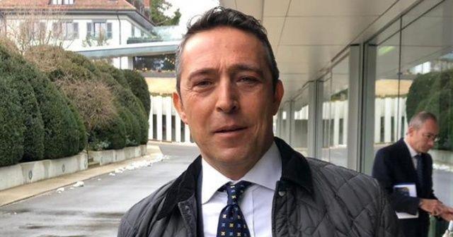 Ali Koç İsviçre'de UEFA yetkilileriyle görüştü