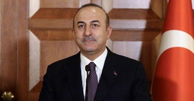 Bakan Mevlüt Çavuşoğlu: Kışkırtmanın arkasında PKK'nın olduğunu biliyoruz