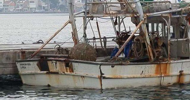 Balıkçının ağına mayın takıldı!