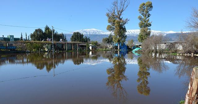 Baraj kapakları açıldı! Amik Ovası su altında kaldı