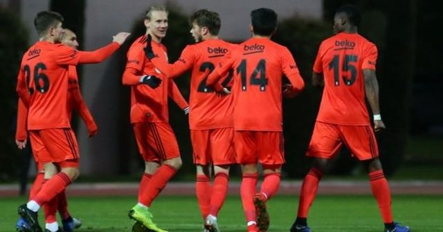 Beşiktaş'tan 5 gollü galibiyet!