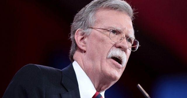 Bolton ve heyeti Ankara'da