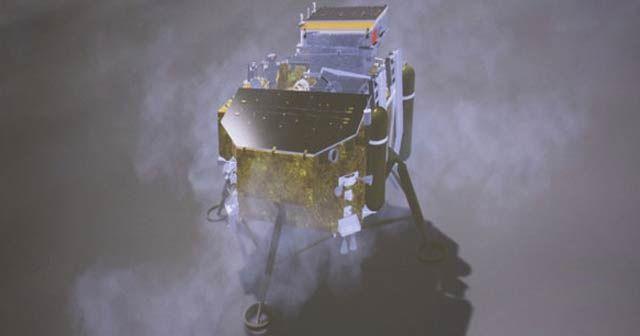 Çin'in Ay'ın karanlık tarafına gönderdiği insansız keşif aracı iniş yaptı