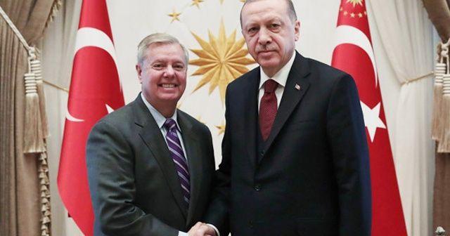 Cumhurbaşkanı Erdoğan ABD'li senatör Graham'ı kabul etti