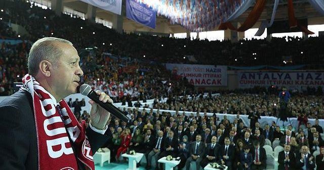 Cumhurbaşkanı Erdoğan Antalya Büyükşehir ve ilçelerdeki adayları açıkladı