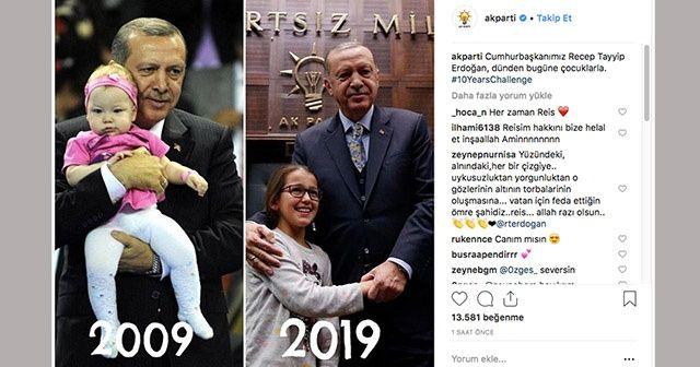 Cumhurbaşkanı Erdoğan'ın 10 yıl önceki hali