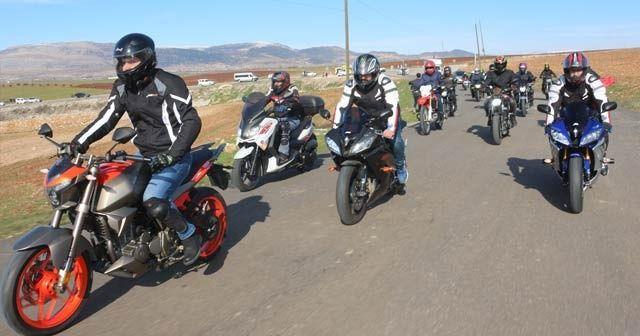Doğu Türkistan'da yaşanan zulümlere motosikletli tepki