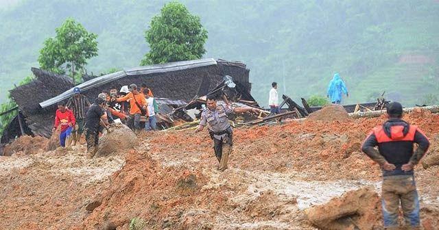 Endonezya'da heyelan: 2 ölü, 41 kayıp