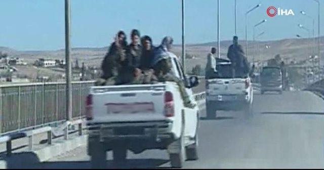Esad güçleri PKK'lı teröristlerle Münbiç'te anlaştı iddiası