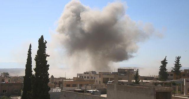 Esad rejimi İdlib'de sivillere saldırdı