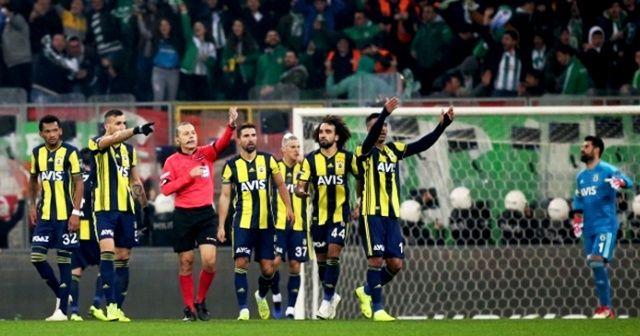Fenerbahçe'den çok sert hakem tepkisi