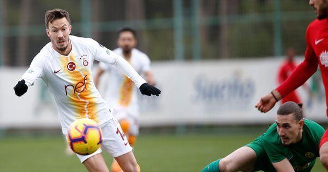 Galatasaray'ın hazırlık maçında düello! Tam 6 gol