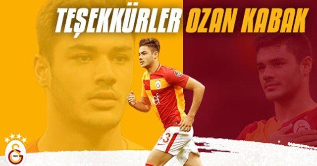 """Galatasaray: """"Teşekkürler Ozan Kabak"""""""