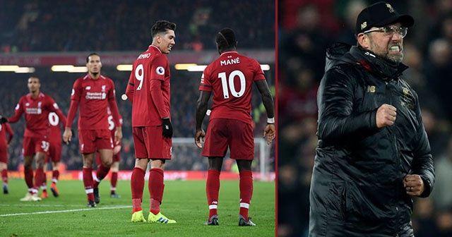 Gol düellosunu Liverpool kazandı! Klopp çılgınlar gibi sevindi