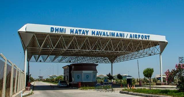 Hatay Havaalanı sivil araç trafiğine kapatıldı
