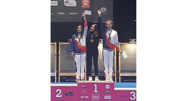 İhlas Koleji öğrencisi Melisa Gazoz'dan dünya ikinciliği