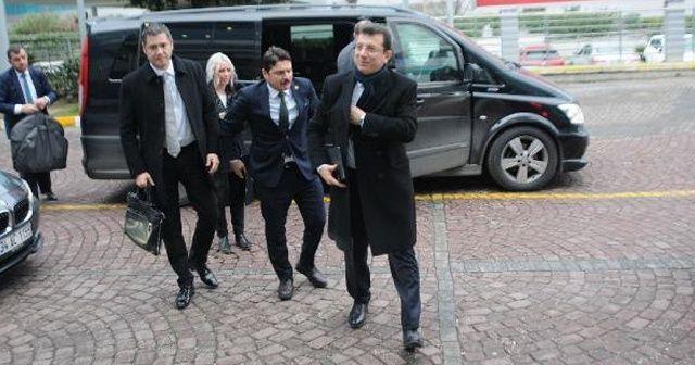 İmamoğlu, Cumhurbaşkanı Erdoğan'la görüşmek üzere Ankara'ya gitti