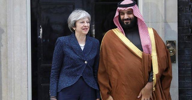 İngiltere Başbakanı May'in Suudi Arabistan'ı kınadığı gün silah anlaşması için pazarlık yapılmış