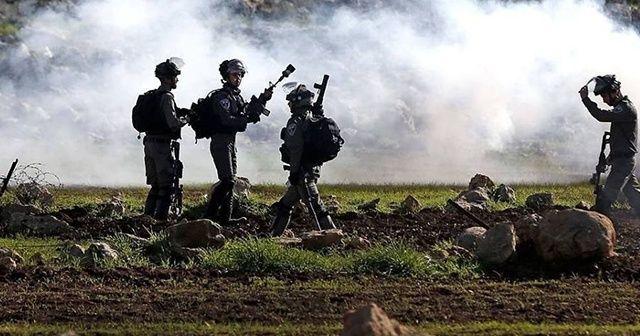 İsrail askerleri Ramallah'ta 28 Filistinliyi yaraladı