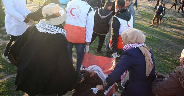 İsrail'den saldırı: 1 Filistinli kadın şehit oldu, 25 kişi yaralandı