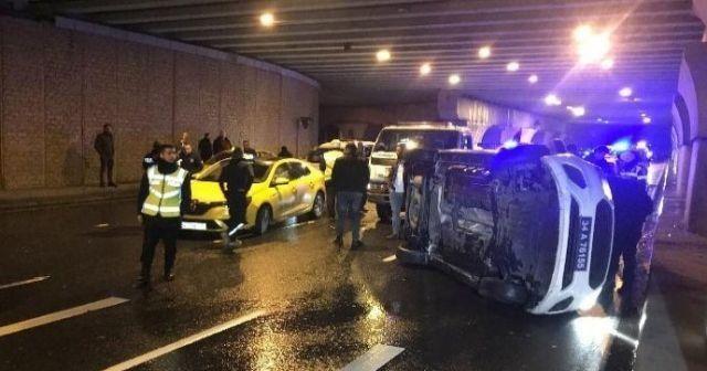 İstanbul'da hareketli dakikalar! 2 polis yaralandı