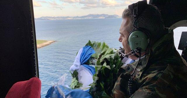 İstifa eden Yunan Savunma Bakanı Kammenos Kardak'ta