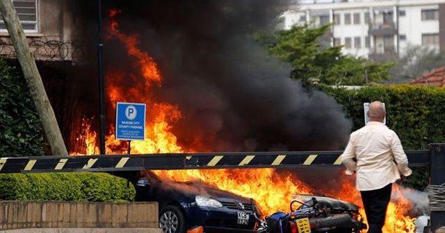 Kenya'da patlama ve silah sesleri