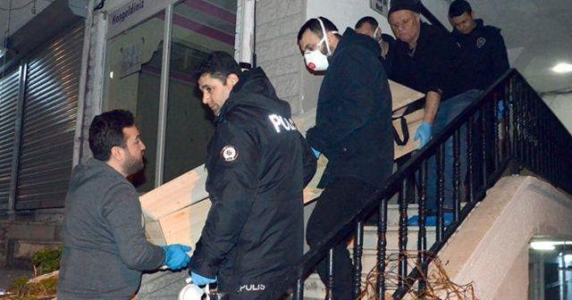 Koku yayılan evdeki bazadan kadın cesedi çıktı