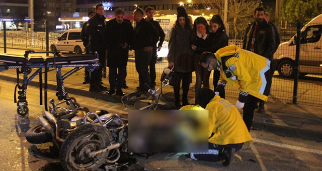 Feci motosiklet kazası: 'Neden yüzünü kapatıyorsunuz'