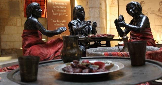 """Müzeler kenti Gaziantep'te """"Hamam Müzesi"""" ilgi çekiyor"""