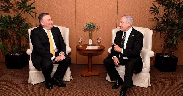 Pompeo'dan Netanyahu'ya Suriye konusunda güvence
