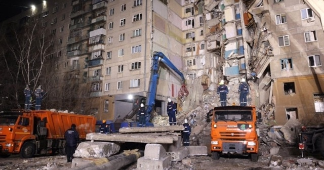 Rusya'da enkaz altında 33 ceset çıkarıldı