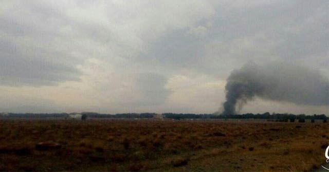 Son dakika... İran'da kargo uçağı düştü