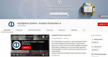 """Açıköğretim Sistemi Youtube kanalı """"Youtube Silver Plaketi"""" aldı"""