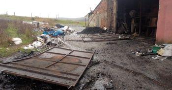 Arnavutköy'de dökümhanede patlama: 1 yaralı