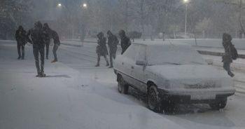 Elazığ'da okullara kar tatili