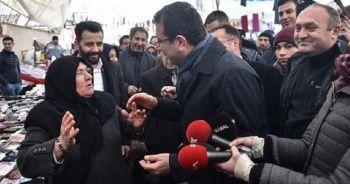 İmamoğlu'nu AK Parti adayı zannetti! CHP'li olduğunu duyunca bakın ne dedi