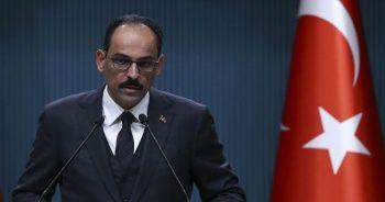 Kalın: Türkiye'nin Kürtleri hedef aldığı iddiası akıl dışıdır