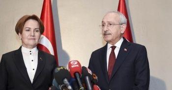 Kılıçdaroğlu ile Akşener görüştü