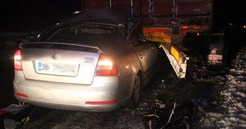 Konya-Adana yolunda  feci kaza: 2'si çocuk 4 ölü