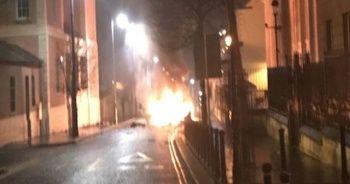 Kuzey İrlanda'da patlama