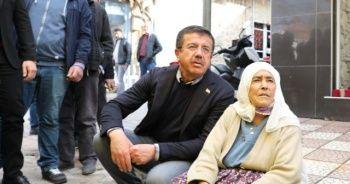 Nihat Zeybekci ile Safiye Teyze'nin sempatik tüp diyalogu