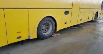 Otobüsü tamir ederken öldü