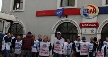 Sendika zammı kabul etti, İZBAN'da grev bitti