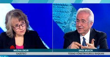 TÜSİAD Başkanı Bilecik'ten TGRT Haber'in canlı yayınında önemli açıklamalar