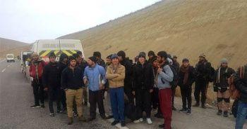 Van'da 41 kaçak göçmen yakalandı