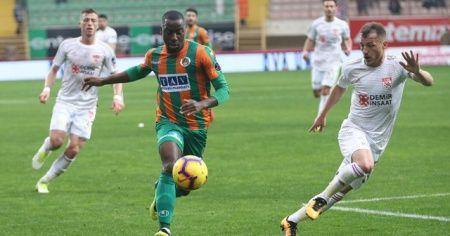 Aytemiz Alanyaspor: 2 - Demir Grup Sivasspor: 0 (Maç sonucu)