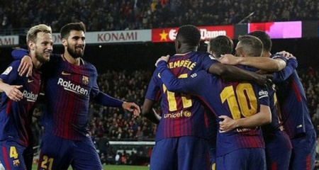 Barcelona La Liga'da evinde kazandı