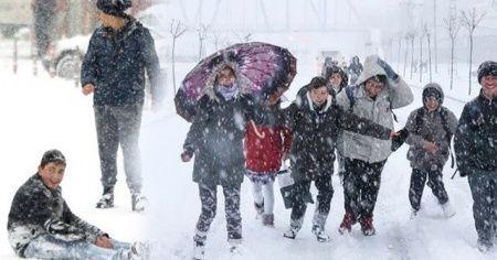 Eğitime kar engeli! İşte yarın okulların tatil olacağı iller