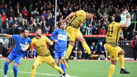 Evkur Yeni Malatyaspor kupada çeyrek finale yükseldi